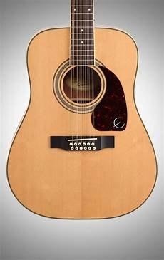 Epiphone Dr 212 12 String Acoustic Guitar Zzounds