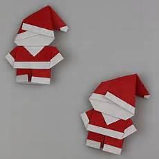 eine kleine deutschkiste origami weihnachtsmann