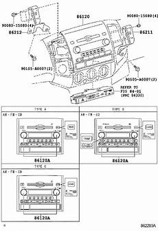 2012 tacoma seat wiring diagram 2012 toyota tacoma audio auxiliary adapter stereo no 1 861900c020 genuine