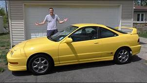 Here's Why The Acura Integra Type R Is Shooting Up In