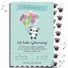 einladungskarten kindergeburtstag text einladungskarte panda zum kindergeburtstag minidrops