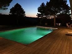 eclairage terrasse piscine eclairage piscine