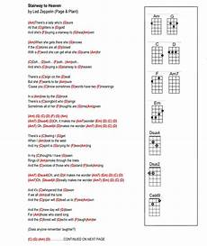 stairway to heaven lyrics stairway to heaven 1 2 ukulele in 2019 guitar chords for songs ukulele chords guitar songs