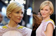 short wedding hairstyles from the carpet cate blanchett