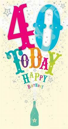 happy 40th birthday quotes and wishes