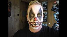 Horror Clown Schminken - evil clown makeup tutorial 2012