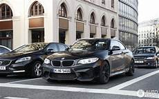 bmw f87 m2 coupe spotted in sapphire black