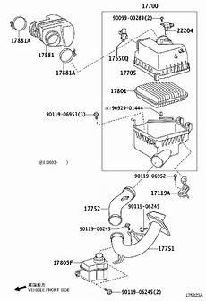 2006 toyota rav 4 engine diagram toyota rav4 engine air intake resonator 178940v020 deluca toyota ocala fl