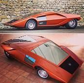 1970 Lancia Stratos HF Zero  AUTO Futuristic Cars