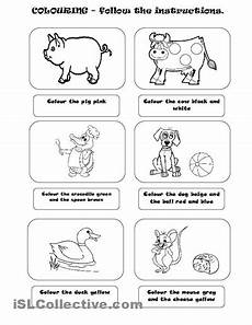 following directions worksheets kindergarten 11712 14 best images of follow directions worksheets for elementary following directions worksheets