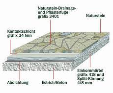 naturstein auf beton kleben mischungsverh 228 ltnis zement
