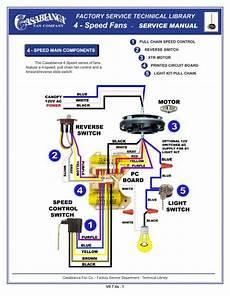 pull chain speed control casablanca fan repair