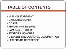 simple career portfolio