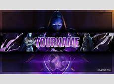 Fortnite Youtube Banner Template   Omen Channel Art