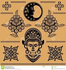 indische muster vektor abbildung illustration indien