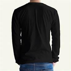 jual kaos polos cotton combed 24s 30s hitam lengan panjang termurah surabaya kaos polos cowok