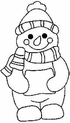 100 malvorlagen winter weihnachten schneem 228 nner schneemann