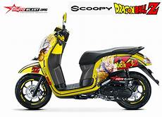 Skotlet Scoopy by Modif Motor Scoopy Warna Hitam Putih Automotivegarage Org