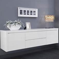 meuble cuisine a suspendre buffet bahut suspendu blanc laqu 233 design achat