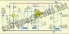 electric guitar prelifier circuit diagram