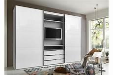 armoire de chambre armoire 224 portes coulissantes avec 233 l 233 ment tv cbc meubles