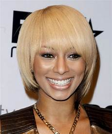 keri hilson short straight light blonde and dark brunette
