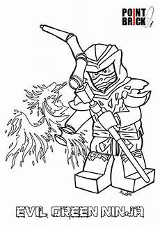 Ausmalbilder Lego Ninjago Morro Lovely Ninjago Green Coloring Pages Follows