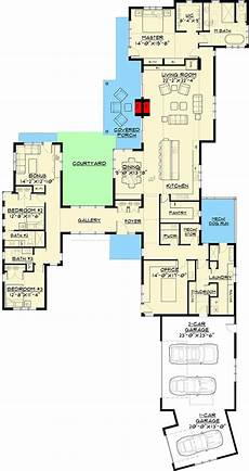 ultra modern house floor plans ultra modern farmhouse with dog run courtyard house