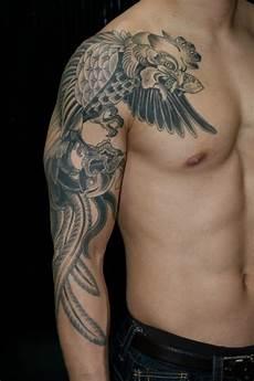 73 wonderful eagle shoulder tattoos