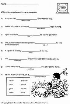 nounorama word usage third grade vocabulary activity jumpstart printable english