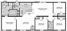 4 bedroom barn house plans 1600 sq ft 4 bedrooms a good use of space in 2019