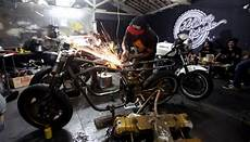 Bengkel Motor Custom by Berapa Ongkos Membuat Motor Custom Gaya Tempo Co