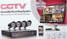 cctv with recording complete cctv systems 4 channel cctv security recording