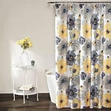 Grey Yellow Shower Curtain shower curtain yellow and gray walmart