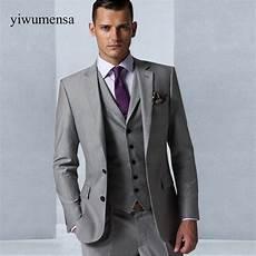 custom made gris hommes de mariage robe 2018 mari 233