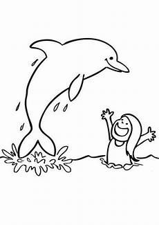 ausmalbilder delfine 17 ausmalbilder tiere