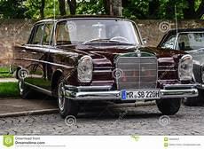mercedes fulda fulda germany mai 2013 mercedes 220 se limousine