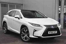 lexus 2016 rx 450h luxury petrol electric white cvt car