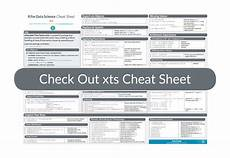 xts cheat sheet time series in r article datac