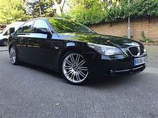 Bmw E60 520d Black On 19 Quot Spiders Alloys In Islington
