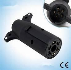 7 blade to 6 trailer adapter trailer light plug connector rv boat ebay