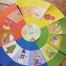Legekreis Drucken Kalender F 252 R Kinder Jahreszeiten