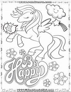 Malvorlagen Unicorn Versi Unicorn Coloring Pages Are The Escape From Reality