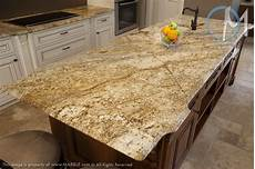 the dramatic veining of yellow river granite with a cove