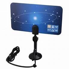 Flat Indoor Digital Antenna High Hdtv by Digital Indoor Vhf Uhf Ultra Thin Flat Tv Antenna For Hdtv