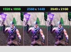 GTX 1080 Ti Fortnite: 1080P vs 1440P vs 4K FPS Comparison