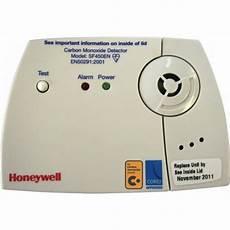 detecteur monoxyde de carbone honeywell d 233 tecteur de co monoxyde de carbone sf450en bricozor
