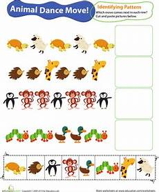 animal pattern worksheets 14350 identifying patterns animal worksheet education