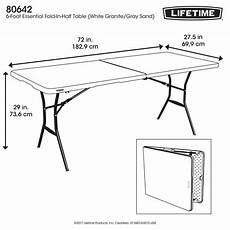 table pliante plastique 23238 lifetime plastique table pliante table de cing 183 x 70 x 74 cm lavi fr distributeur