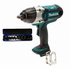 makita schlagschrauber set makita dtw450z cordless 18v 1 2 quot impact wrench 440nm